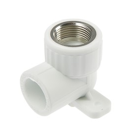 VALFEX corner, polypropylene, with fastening, 25 mm x 3/4