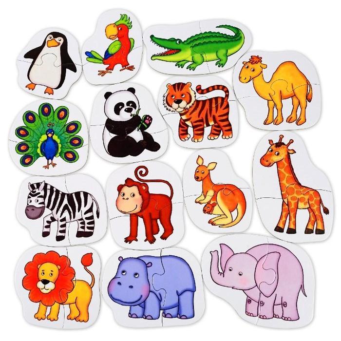 картинки животных в квадратах основанию чаши