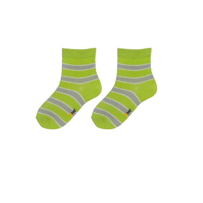 Носки детские, цвет салатовый, р-р 12