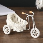 "Basket decorative ""Bike with sidecar"""