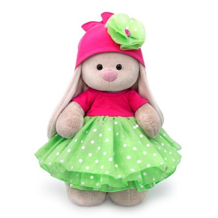 Мягкая игрушка «Зайка Ми» в платье с пышной юбкой из органзы, 32 см - фото 105613953