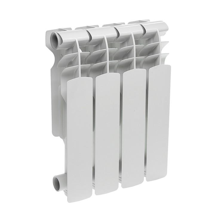 Радиатор алюминиевый Oasis, 350 х 96 мм, 4 секции