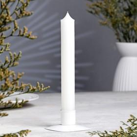 Свеча хозяйственная, 2×17,8 см, 50 грамм Ош