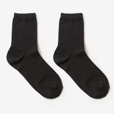 Носки детские цвет чёрный, р-р 22-24
