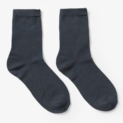 Носки детские IN-026  цвет серый, р-р 21-23