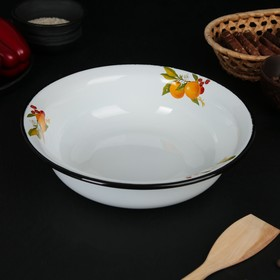 Bowl 2 l with decor in assortment