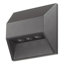 Светильник светодиодный SUBMARINE, 3 Вт, 4000К, LED, цвет чёрный