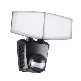Светильник светодиодный SOLAR, 20 Вт, 6000К, LED, цвет чёрный
