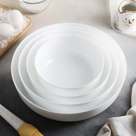Набор форм для запекания Diwali, 4 предмета: d=30,26,22,18 см, цвет белый