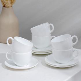 Сервиз чайный на 6 персон 220 мл Evoution