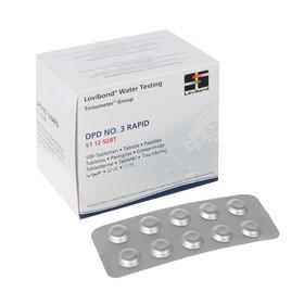 Тестерные таблетки для определения общего хлора в воде, 500 таблеток