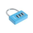 Замок навесной кодовый TUNDRA ZK004, синий