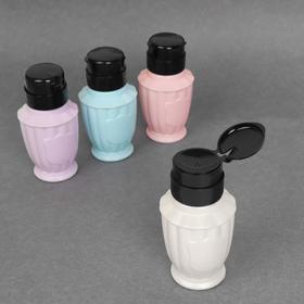 Баночка с дозатором для жидкостей «Винтаж», 200 мл, цвет МИКС