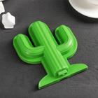 """Форма для мороженого """"Кактус"""", цвет зелёный"""