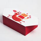 Сборная коробка-конфета «Новогодние шалости», 9,3 × 14,6 × 5,3 см