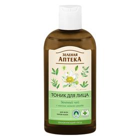 Тоник для лица Зелёная Аптека «Зелёный чай», для всех типов кожи, 200 мл
