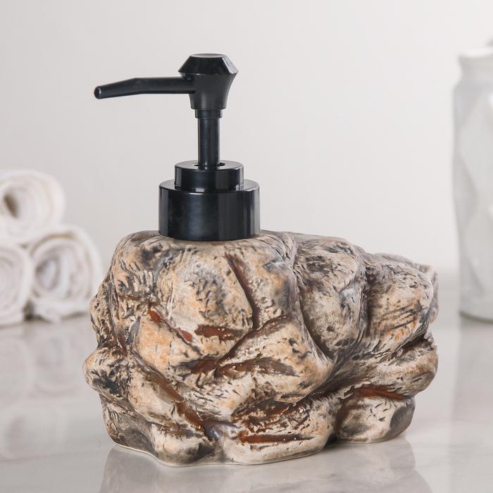"""Дозатор для жидкого мыла """"Метеор"""", цвет МИКС"""