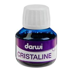Pigment ink, 50 ml, Darwi Cristaline 256, ultramarine, quick-drying (liquid watercolor).