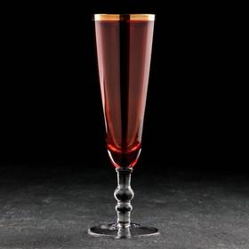 Champagne glass 160ml Meri, color red