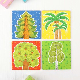 Пазл для малышей «Деревья»