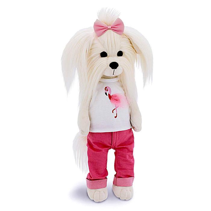 Мягкая игрушка Lucky Mimi «Цвет настроения фламинго», 25 см