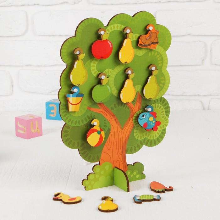 """Сортер-дерево """"Что на дереве растет"""""""
