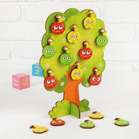 Сортер-дерево «Яблонька» яблоко: 3.5 × 4.5 см