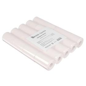 Чековая лента термо 57 мм 20 м, 57 х 12 х 20, 48 г/м2, 20 штук, чёрный оттиск