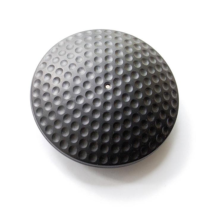 Датчик радиочастотный, жесткий, Designer Golf, d63мм, цвет чёрный