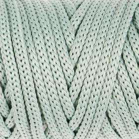 """Шнур для рукоделия полиэфирный """"Софтино"""" 4 мм, 50м/110гр (серо-зеленый)"""