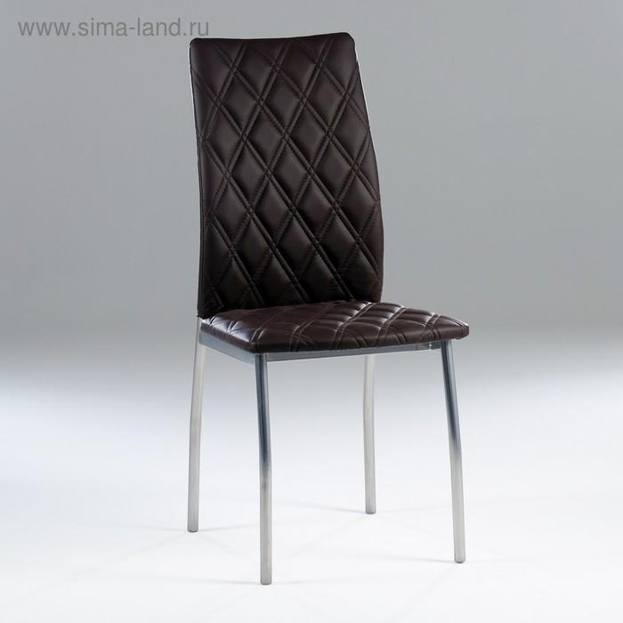 "Chair ""Wave"" (diamond), brown"