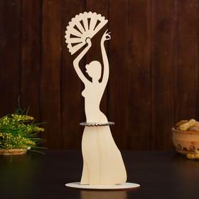 Салфетница «Дама с веером», 12,5×6,5×31,5 см