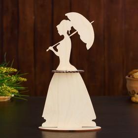 Салфетница «Дама с зонтом», 13×6,5×23 см