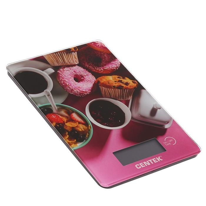 Весы кухонные Centek CT-2459 Sweet, электронные, до 5 кг,