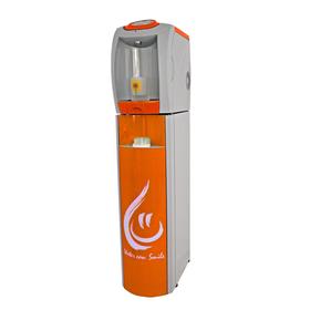 Пурифайер VATTEN FD101TKM SMILE, компрессор, нагрев 7.5 л/ч, охлажд. 16 л/ч, серый/оранж.