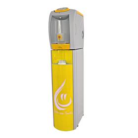 Пурифайер VATTEN FD101TKM SMILE, компрессор, нагрев 7.5 л/ч, охлажд. 16 л/ч, серый/жёлтый