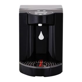 Пурифайер VATTEN FD102NTKGMO SORGENTE, компрессор, нагрев 7.5 л/ч, охлажд. 16 л/ч, чёрный