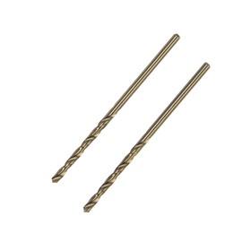 Сверло по металлу TUNDRA premium, HSS-Co (5% кобальта), цилиндрический хвост., 2 мм, 2 шт. Ош