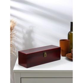 "Ящик для хранения вина 36×11 см ""Кьянти"", на 1 бутылку"