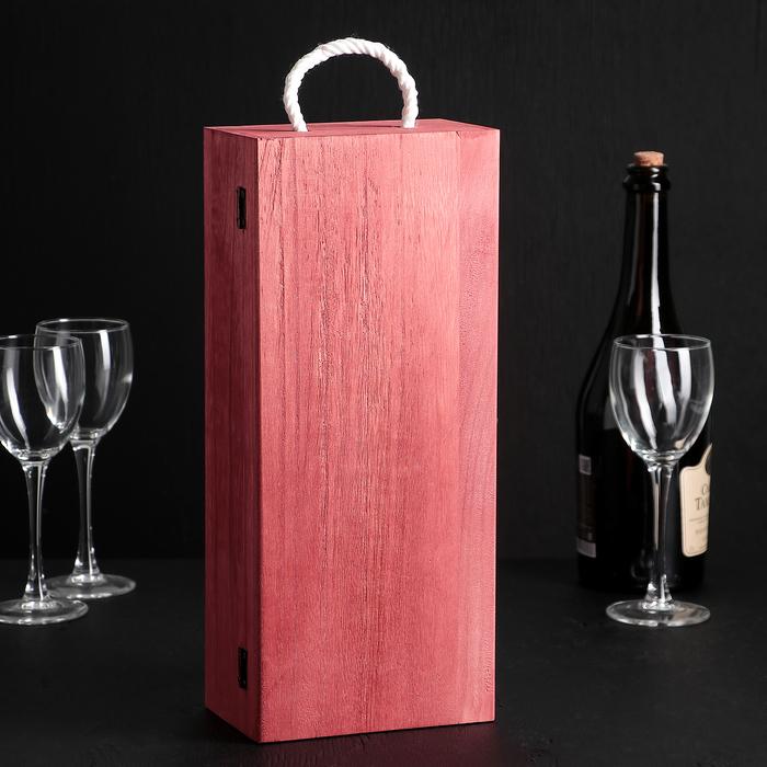 """Ящик для вина 34,5×15×10 см """"Семильон"""""""