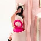 Сумка-рюкзак для хранения вещей малыша, цвет розовый - фото 105542960