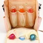 Сумка-рюкзак для хранения вещей малыша, цвет розовый - фото 105542963