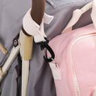Сумка-рюкзак для хранения вещей малыша, цвет розовый - фото 105542966