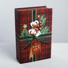 Коробка‒книга «Для тебя в Новый год», 20 × 12.5 × 5 см