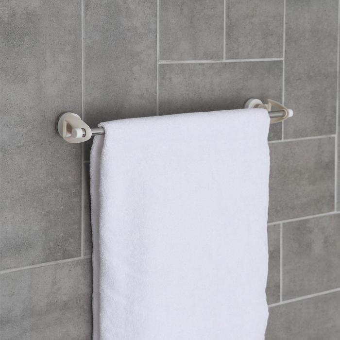 Держатель для полотенец на присосках, 47×4,7×7,5 см - фото 4648531