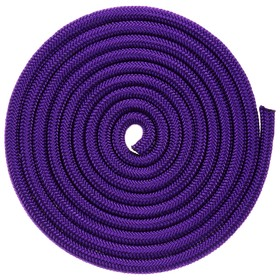 Jump rope anthem.2.5 m (a rope.) Weighted 150g Purple