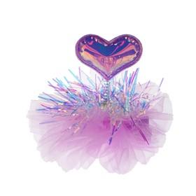 "Carnival clip ""Heart"", MIX colors"