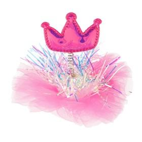 """Carnival clip """"Princess"""", MIX colors"""