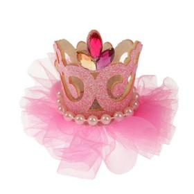 """Carnival clip """"Queen"""", MIX colors"""