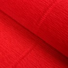"""Бумага гофрированная 618 """"Красный мандарин"""", 50 см х 2,5 м"""